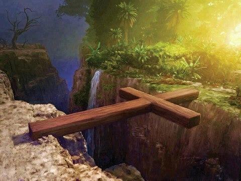 Einziger Weg ins Paradies